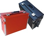 Leather Tool Case red