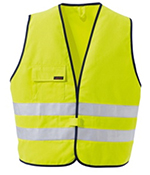Vest  flame protection yellow-blue Art. No. 2019