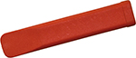 Plastic Insulating Wedges 1000 V oval red