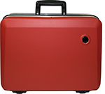 Hard-Shell Case red, empty to carry approx. 40 tools