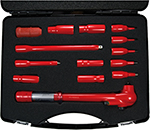 "Tool Case 1000 V 3/8"" VDE GS 15 pcs."